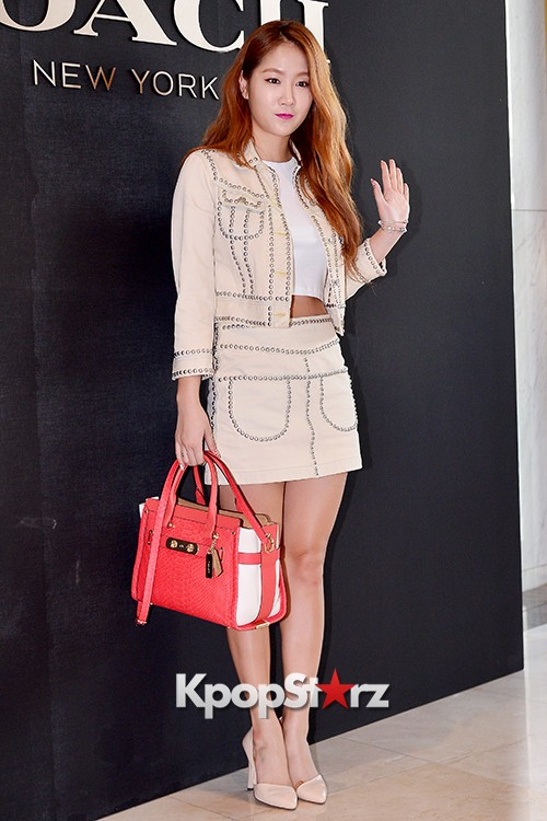 Sistar's Soyou at the Opening Ceremony of COACH Flagship Store in Seoulkey=>5 count14
