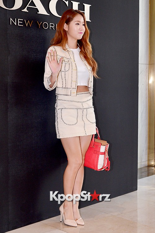 Sistar's Soyou at the Opening Ceremony of COACH Flagship Store in Seoulkey=>9 count14