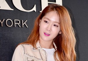 Sistar's Soyou at the Opening Ceremony of COACH Flagship Store in Seoul