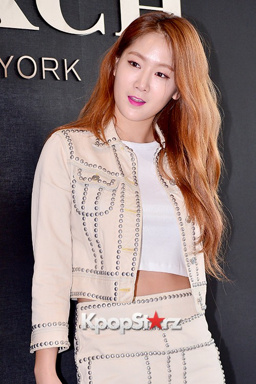 Sistar's Soyou at the Opening Ceremony of COACH Flagship Store in Seoulkey=>0 count14