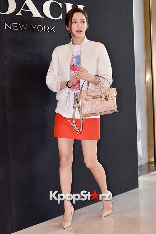Park Si Yeon at the Opening Ceremony of COACH Flagship Store in Seoulkey=>2 count11
