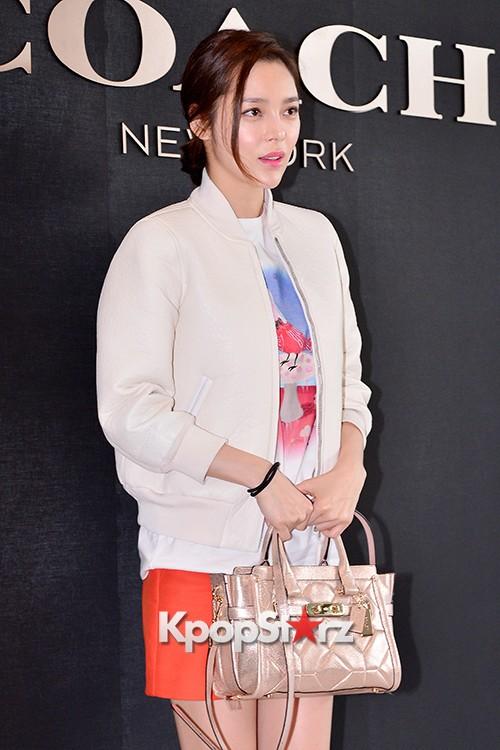 Park Si Yeon at the Opening Ceremony of COACH Flagship Store in Seoulkey=>3 count11