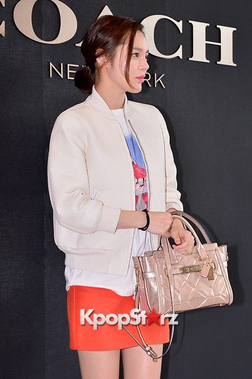 Park Si Yeon at the Opening Ceremony of COACH Flagship Store in Seoulkey=>4 count11
