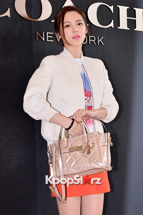 Park Si Yeon at the Opening Ceremony of COACH Flagship Store in Seoulkey=>6 count11