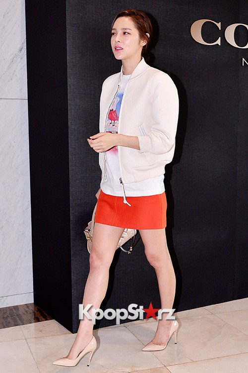 Park Si Yeon at the Opening Ceremony of COACH Flagship Store in Seoulkey=>9 count11