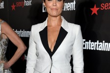"""Bellamy Young, who plays Mellie on """"Scandal,"""" attends Entertainment Weekly's celebration honoring the 2015 SAG awards nominees at Chateau Marmont on January 24, 2015 in Los Angeles, California"""