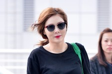 4Minute's HyunA at Incheon Airport to Hong Kong