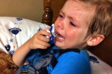 Little Boy Cries Because He Wants To Be President Instead Of Hillary Clinton