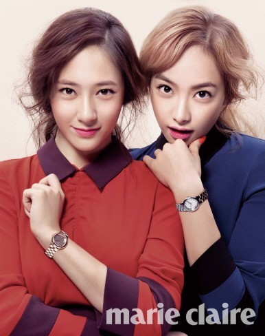 F(x) Krystal and Victoria Photo Shoot 'Lovely Autumn Goddesses'key=>0 count1