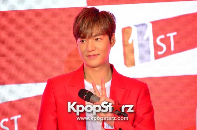 Lee Min Ho Attends 11street's Grand Launch in Malaysia - April 24, 2015 [PHOTOS]key=>18 count36