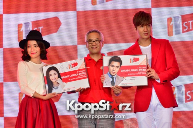 Lee Min Ho Attends 11street's Grand Launch in Malaysia - April 24, 2015 [PHOTOS]key=>26 count36
