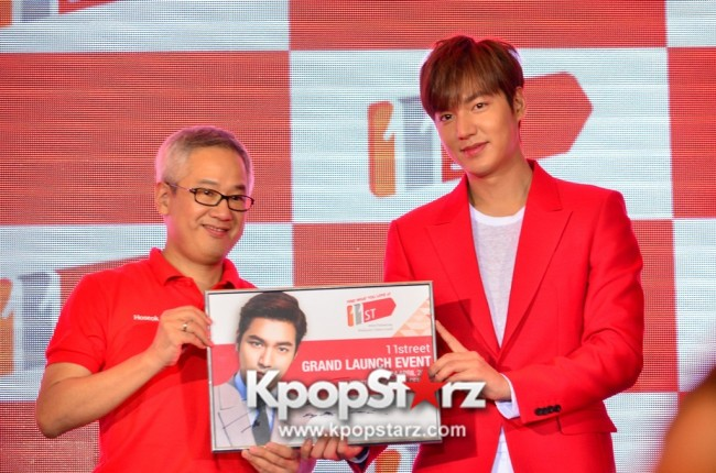 Lee Min Ho Attends 11street's Grand Launch in Malaysia - April 24, 2015 [PHOTOS]key=>25 count36