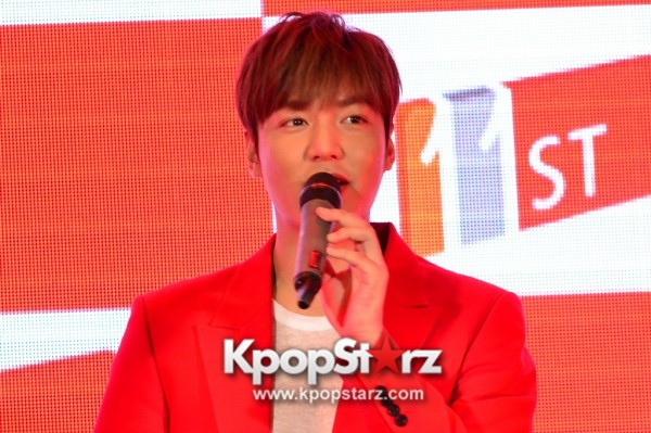 Lee Min Ho Attends 11street's Grand Launch in Malaysia - April 24, 2015 [PHOTOS]key=>7 count36