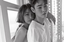 Go Jun Hee Han Ye Jun Elle Magazine May 2015 Pictures
