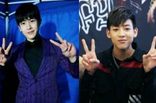2PM's Nichkhun and GOT7's Bambam