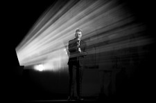Sam Smith performs on stage during the BRIT Awards 2015 at The O2 Arena on February 25, 2015 in London, England.