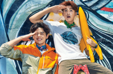 ZEA's Hyungsik and Dongjun Go Colorful In Bali For Cosmopolitan May 2015 Pictures