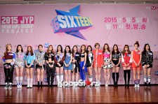 JYP's New Girl Group 'SIXTEEN' at a Press Conference
