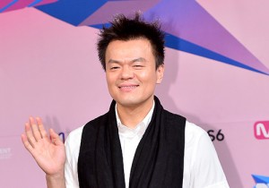 Park Jin Young Attends JYP's New Girl Group 'SIXTEEN' Press Conference