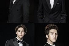 SHINee's Key, 2AM's Jo Kwon, B1A4's CNU, and VIXX's Ken.