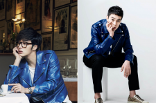 Jung-Il-Woo-InStyle-March-Lee-Kyu-Han-KWave-April-2015-Gucci-Blue-Leather-Jacket-2