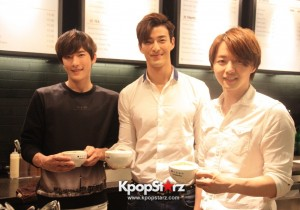 Fans Gathering: Royal Pirates as Baristas for Lucky Fans in Malaysia - May 2, 2015 [PHOTOS]