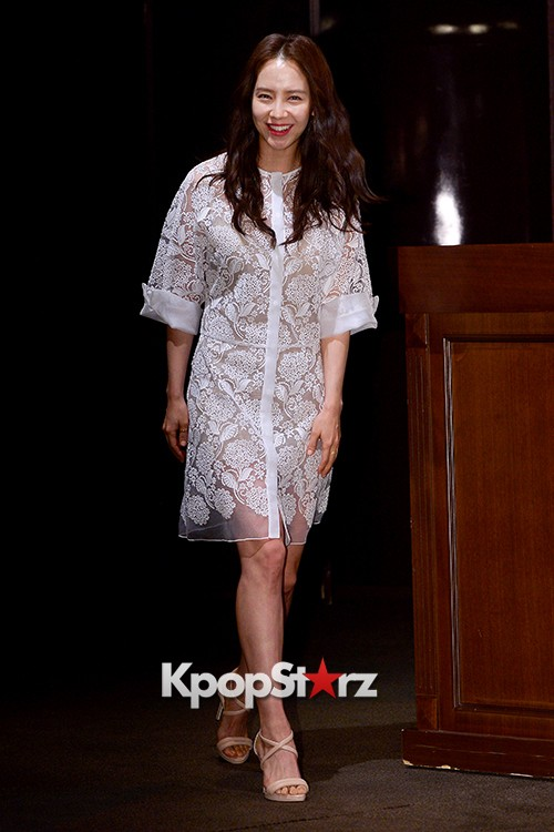 Song Ji Hyo at a Press Conference of tvN Drama 'Ex-Girlfriend Club'key=>2 count20