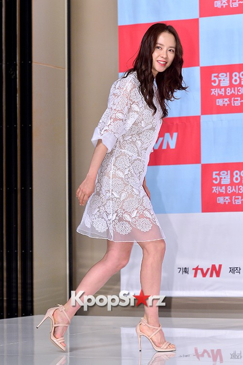 Song Ji Hyo at a Press Conference of tvN Drama 'Ex-Girlfriend Club'key=>3 count20