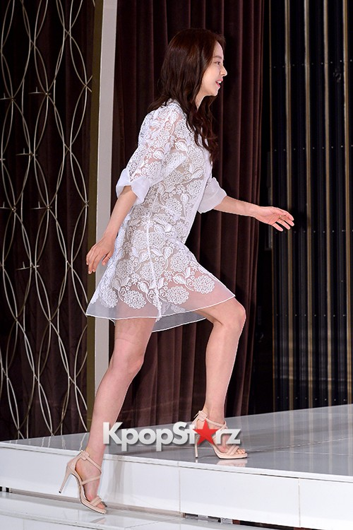Song Ji Hyo at a Press Conference of tvN Drama 'Ex-Girlfriend Club'key=>4 count20