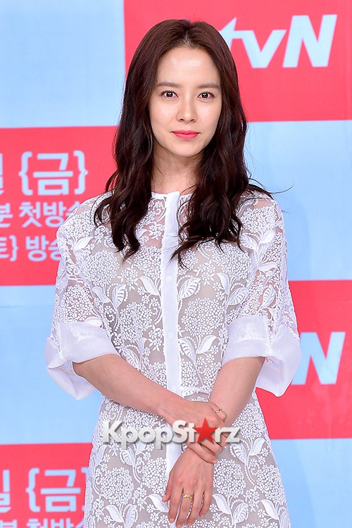 Song Ji Hyo at a Press Conference of tvN Drama 'Ex-Girlfriend Club'key=>0 count20