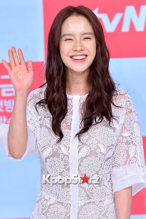 Song Ji Hyo at a Press Conference of tvN Drama 'Ex-Girlfriend Club'key=>12 count20