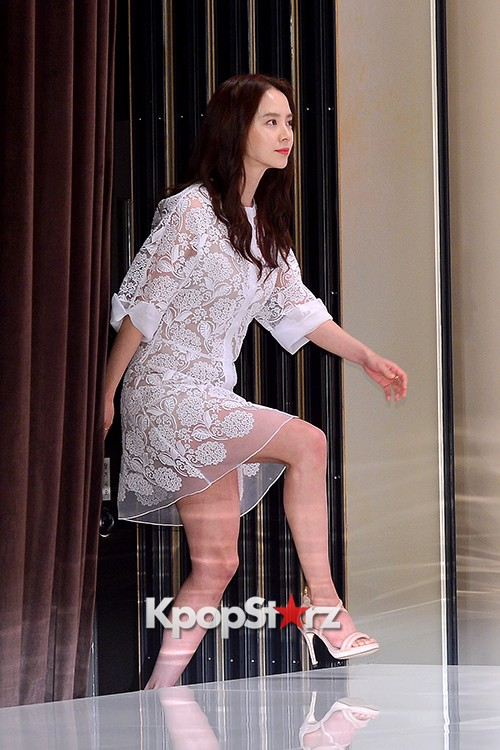 Song Ji Hyo at a Press Conference of tvN Drama 'Ex-Girlfriend Club'key=>13 count20