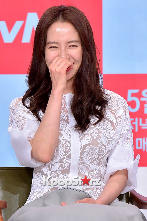 Song Ji Hyo at a Press Conference of tvN Drama 'Ex-Girlfriend Club'key=>15 count20