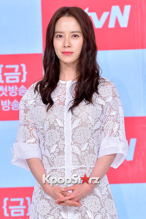 Song Ji Hyo at a Press Conference of tvN Drama 'Ex-Girlfriend Club'key=>16 count20