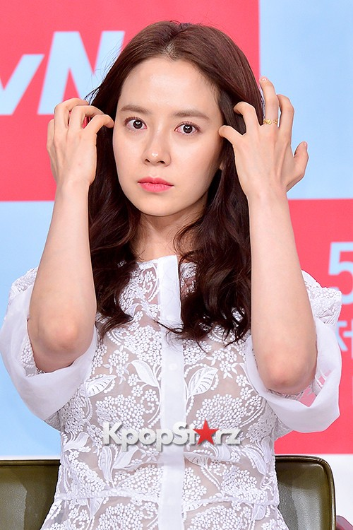 Song Ji Hyo at a Press Conference of tvN Drama 'Ex-Girlfriend Club'key=>17 count20