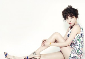 Brown Eyed Girls Gain's InStyle Photo shoot