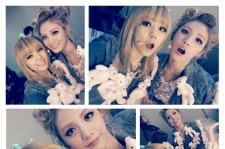 Orange Caramel's member, Lizzy and Nana showed their upgraded beauty through their self taken pictures.