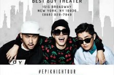 Masta Wu will join Epik High for their June 13 performance at New York City's Best Buy Theater.