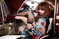 4minute's Hyuna Releases Sexy Album Jacket Photos of 'Ice Cream'