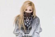 2NE1 CL models Adidas