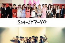 SM-JYP-YG Group Pictures, 'All Different Images'