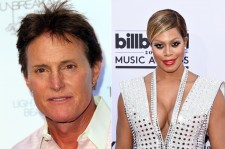 Bruce Jenner and Laverne Cox