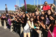 Carly Rae Jepsen with fans