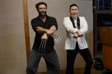 Psy and Hugh Jackman Do Gangnam Style