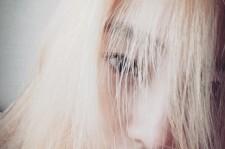 Girls Generation Taeyeon Blond