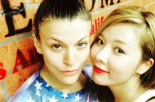 HyunA and Janelle Ginestra