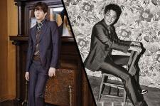Park Sang Hyun Vogue Girl Magazine May Jinusean's Kim Jinwoo Elle May 2015