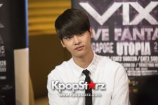 Exclusive Interview With VIXX At Live Fantasia Utopia In Singapore 2015 - May 29, 2015 [PHOTOS] Special Thanks to Three Angles Production
