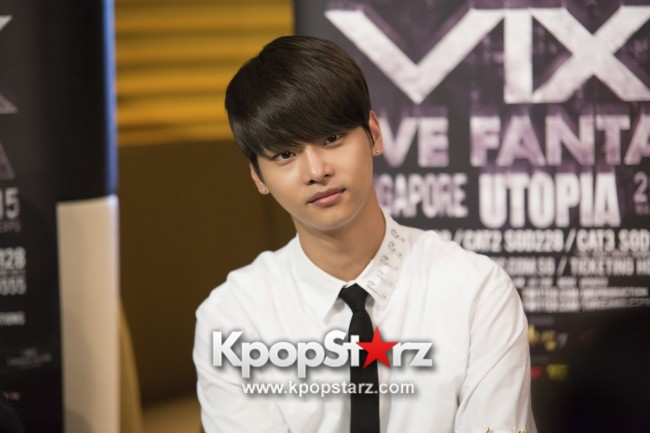 Exclusive Interview With VIXX At Live Fantasia Utopia In Singapore 2015 - May 29, 2015 [PHOTOS] Special Thanks to Three Angles Productionkey=>2 count8