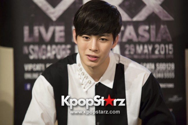 Exclusive Interview With VIXX At Live Fantasia Utopia In Singapore 2015 - May 29, 2015 [PHOTOS] Special Thanks to Three Angles Productionkey=>4 count8